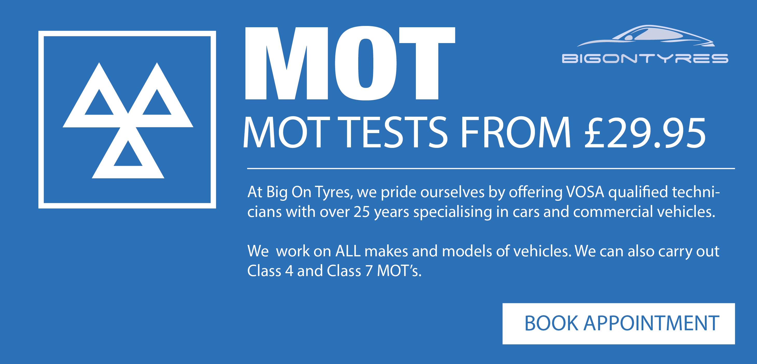 MOT | Servicing